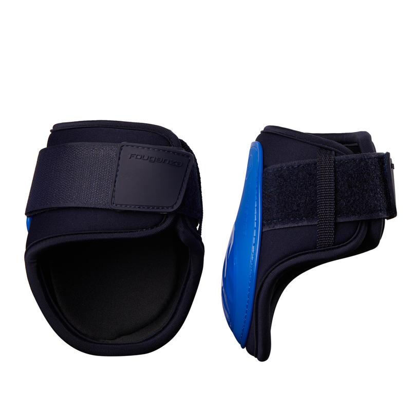 Protège-boulets cheval 500 SAUT bleu roi