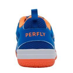 兒童款羽球鞋BS 160-藍橘配色