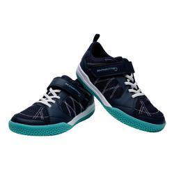 Chaussures De Badminton Junior BS 160 - Marine/Vert
