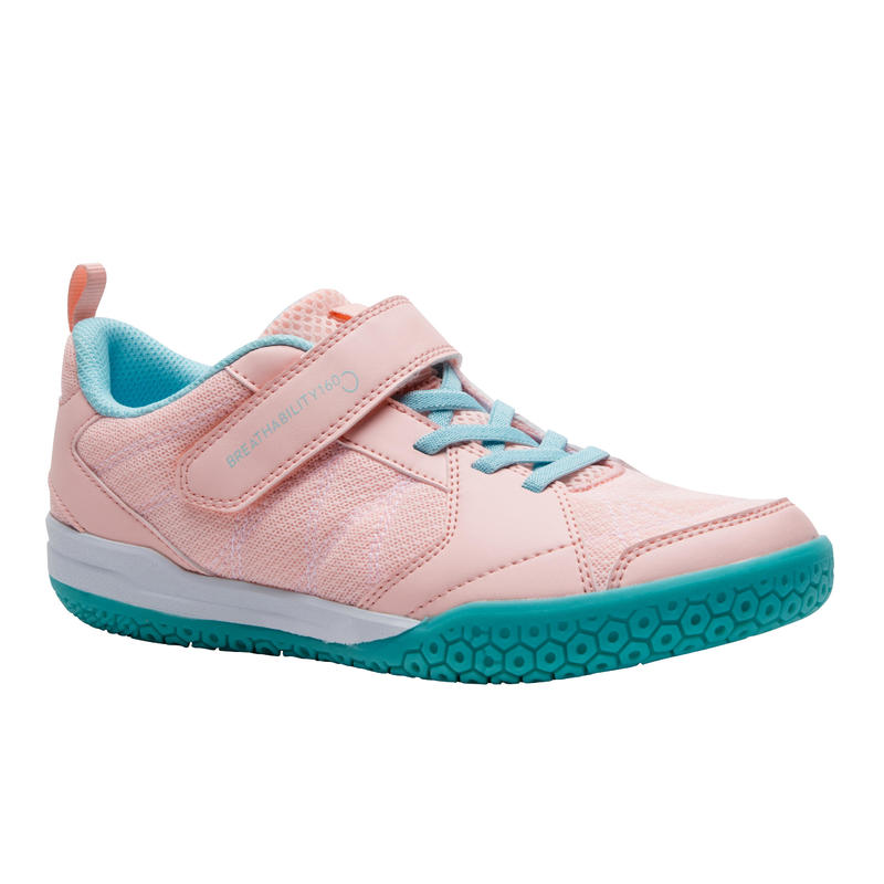 GIRL BADMINTON SHOES BS 160 PINK