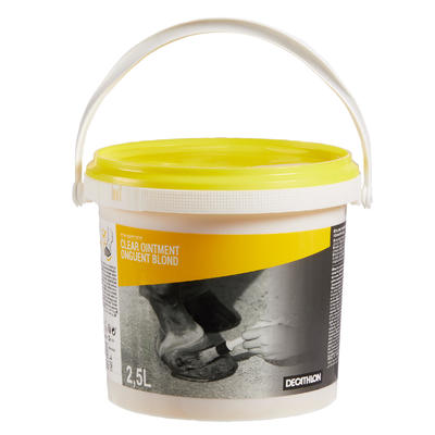 Hoof Care Ointment Horse Riding Hoof Grease for Horse and Pony 2.5 L - Blond