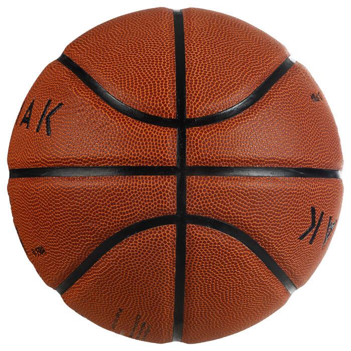 Basketbal BT500 maat 6 bruin Fiba