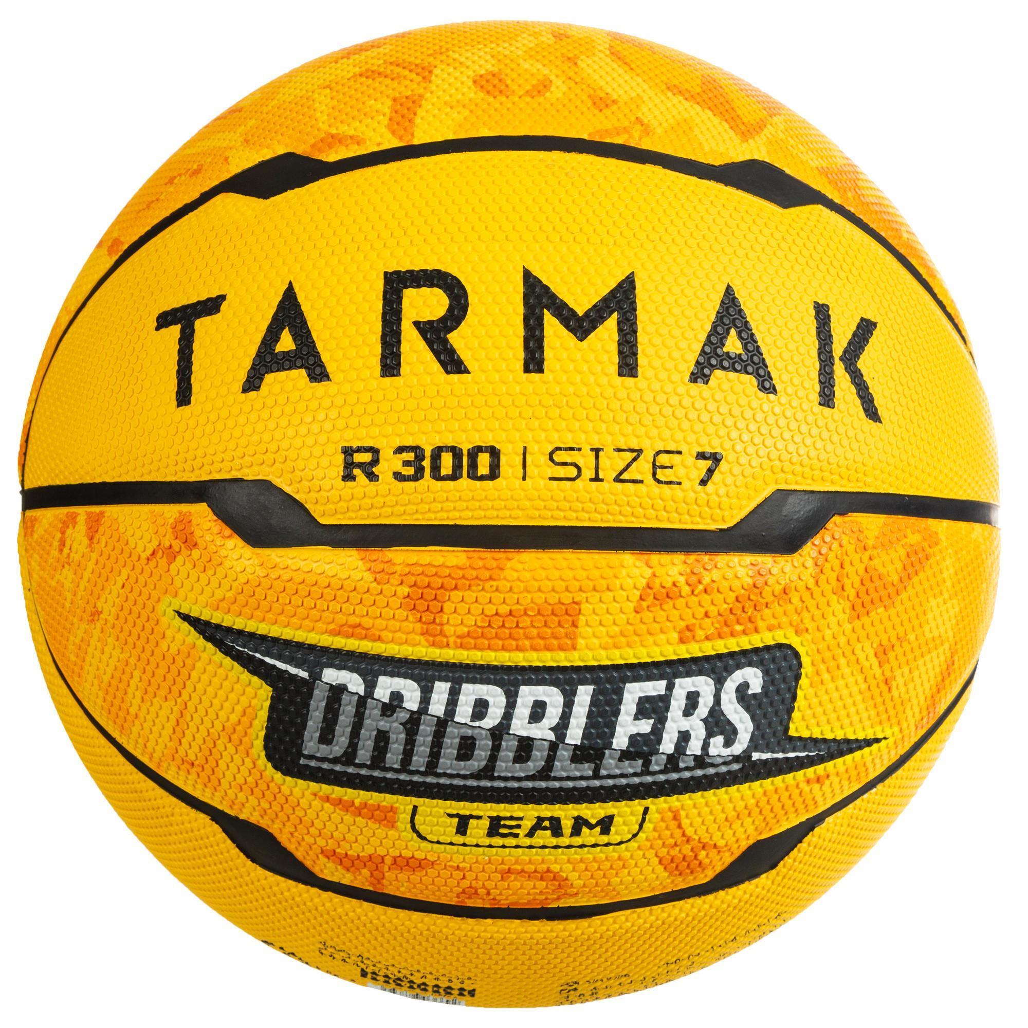 Tarmak Basketbal R300 geel (maat 7)