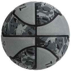 R300 Girls'/Boys'/Women's Beginner Size 6 Basketball - Grey