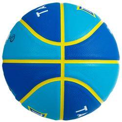 Balón de baloncesto júnior Wizzy blason verde talla 5.