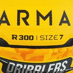 Basketball R300 Größe 7 Einsteiger gelb
