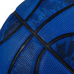 Balón de baloncesto R300 de talla 7 azul hombre desde 13 años en iniciación