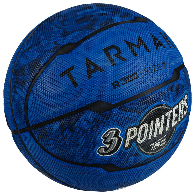 R300 Size 7 Beginner Basketball for Boys older than 13 - Blue