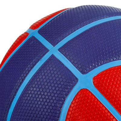 Ballon de basket enfant R300 taille 3 rouge. Pour le baby-basket jusqu'à 6 ans