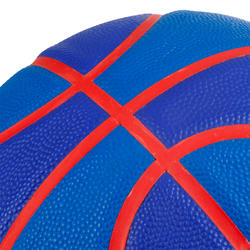 Wizzy Emblem Kids' Size 5 Basketball - Navy Blue.
