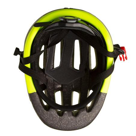 Шолом 500 для катання на міському велосипеді - Неоновий/Жовтий