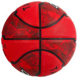 Basketball R300 Größe 5 für Kinder bis 10 Jahre Einsteiger rot