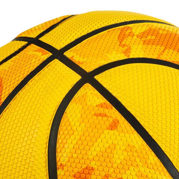 Basketball R300 Größe 5 Kinder bis 10 Jahre Einsteiger gelb