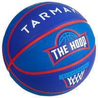 Wizzy Emblem Kids' Size 5 Basketball - Navy Blue.