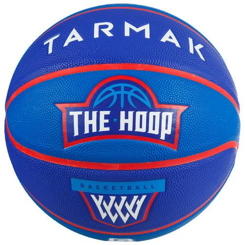 Ballon de basket enfant Wizzy pédagogique bleu taille 5