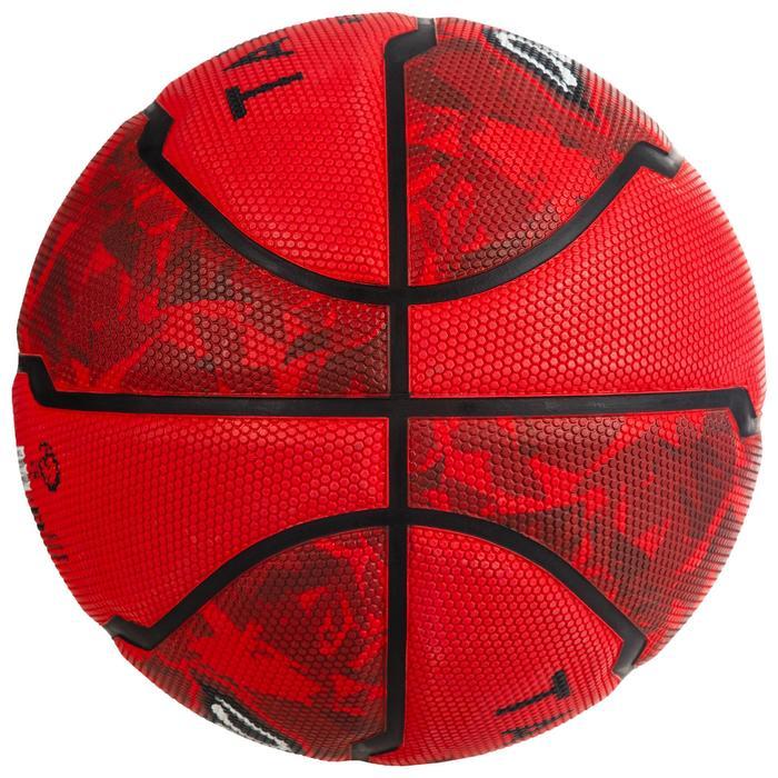 Basketball R300 Größe 7 Einsteiger rot