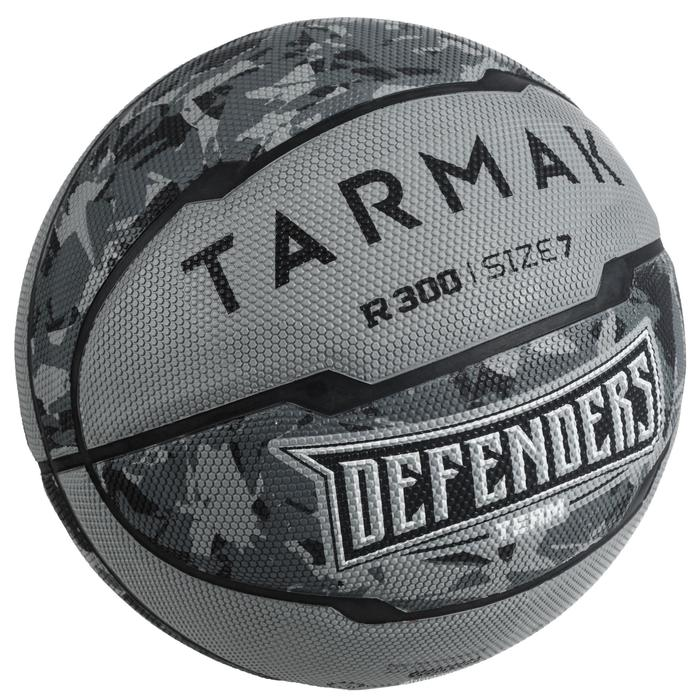 R300 Basketball Size 7, Beginner Players Ages 13 & Up - Grey