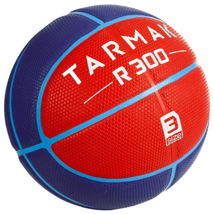 Basketball R300 Größe3 rot für Kinder bis 6Jahre