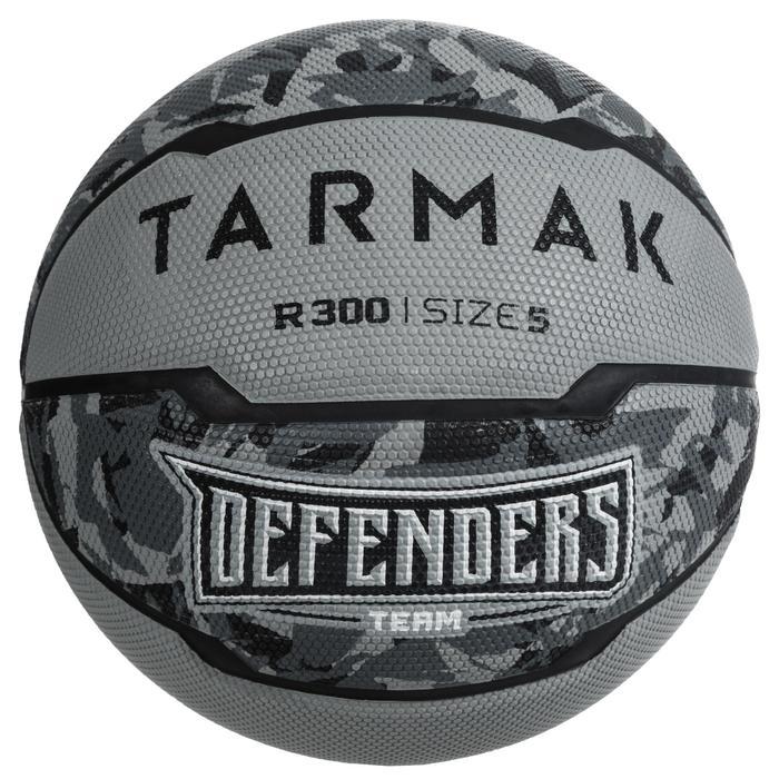 Ballon de basket enfant R300 taille 5 gris jusqu'à 10 ans pour débuter.