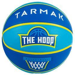 Balón Baloncesto Tarmak Wizzy The Hoop Talla 5 Azul Turquesa
