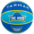 PANIERS & BALLONS BASKETBALL DECOUVERTE Sport di squadra - Pallone basket WIZZY t5 verde TARMAK - Palloni e accessori basket