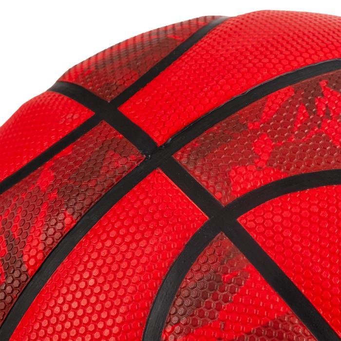 Balón Baloncesto Tarmak R300 Talla 6 Rojo Iniciación Resistencia