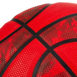 Basketball R300 Größe 6 Einsteiger rot