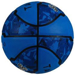 Basketbal R300 maat 5 blauw, voor beginnende kinderen tot 10 jaar.