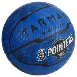 Basketball R300 Größe 5 für Kinder bis 10 Jahre Einsteiger blau