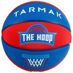 兒童款5號籃球Wizzy-紅色/藍色/Blazon款
