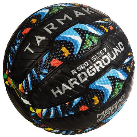 Balón de básquet adulto R500 talla 7 graffiti.  Antiponchaduras y muy adherente
