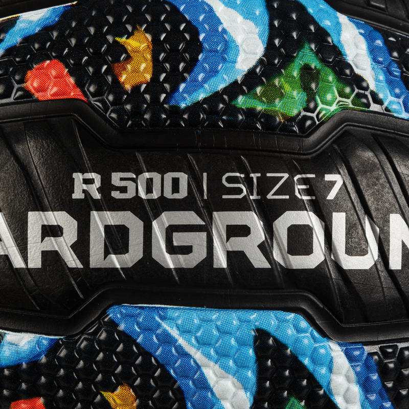 R500 Adult Size 7 Basketball - Graffiti. Puncture-proof and ultra grippy.
