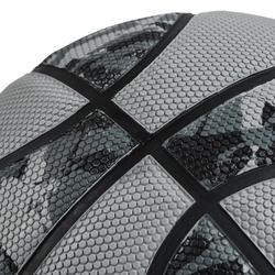 R300 Kids' Size 5 Basketball, Beginner Players Up To Age 10 - Grey
