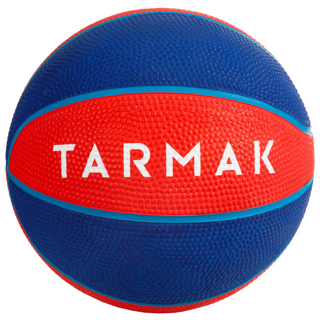 Mini B Kids' Size 1 Basketball. Up to age 4.Red.
