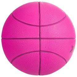 Basketball K100 Schaumstoff rosa Mini Basketball Gr.1 für Kinder bis 4 Jahren