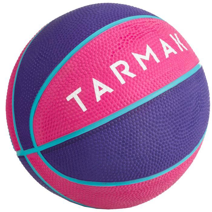 Mini balón de baloncesto para niños Mini B talla 1Hasta 4 años. Rose