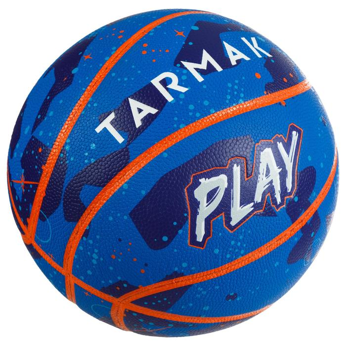 Basketball K500 Play Kinder Einsteiger blau/orange