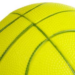 K100 Vert. Mini ballon de basketball enfant en mousse taille 1. Jusqu'à 4 ans.