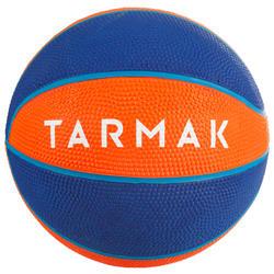 兒童款1號籃球Mini B(4歲以下)-橘色。
