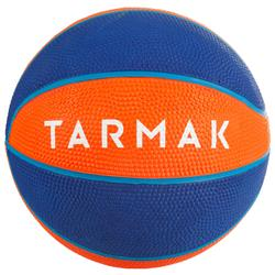 Mini B Kids' Size 1 Basketball Up to age 4.Orange.