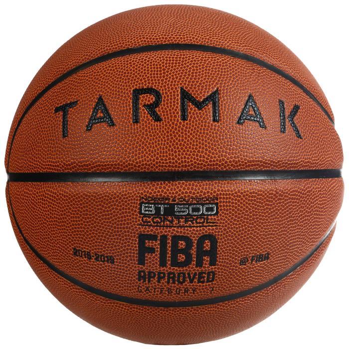 Size 7 Basketball BT500 - Brown FIBA