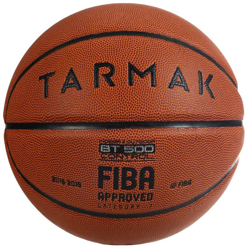 BASKETBALOVÉ MÍČE Basketbal - MÍČ BT500 VEL. 7 FIBA HNĚDÝ TARMAK - Basketbalové míče