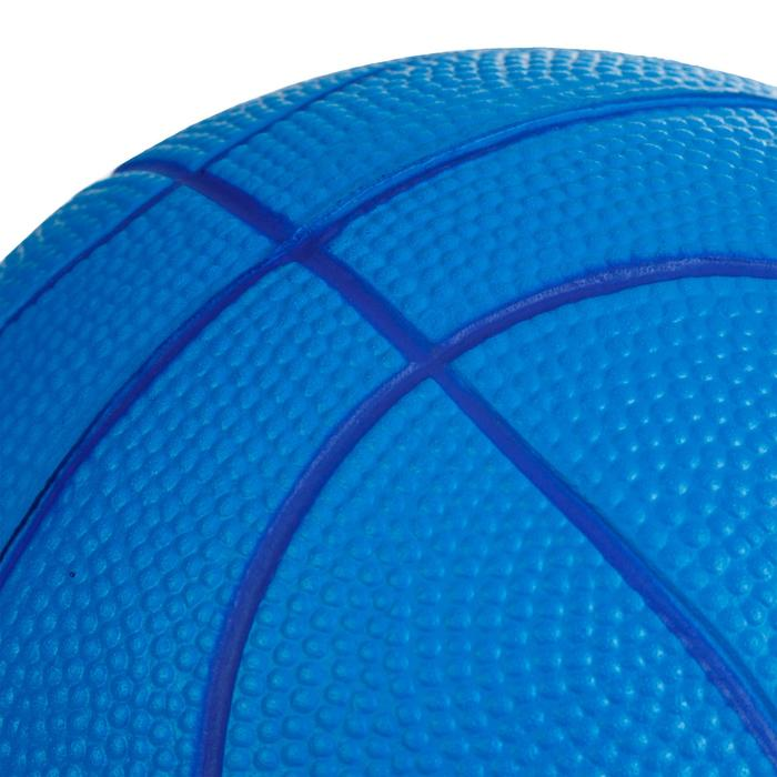 K100 Bleu. Mini ballon de basketball enfant en mousse taille 1 jusqu'a 4 ans.