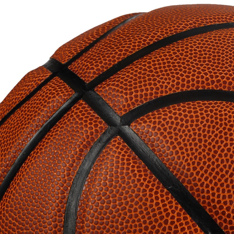 ลูกบาสเก็ตบอลรุ่น BT500 FIBA เบอร์ 7 (สีน้ำตาล)
