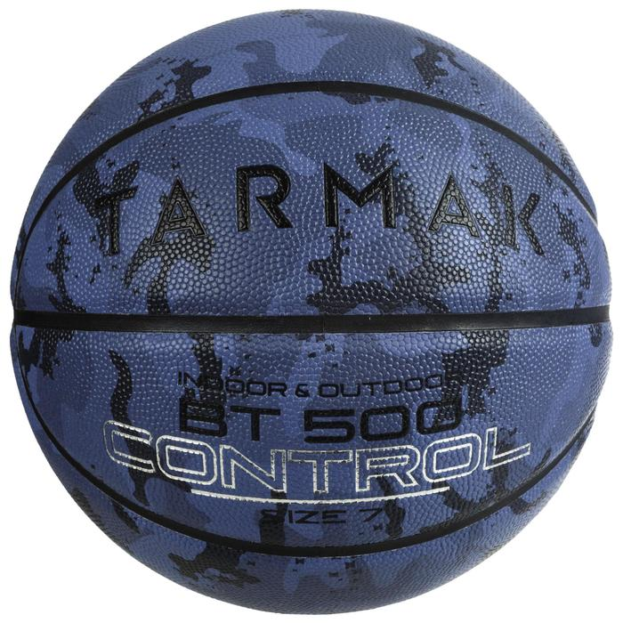 Size 7 Basketball BT500 - Camo/Blue