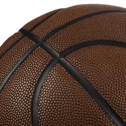 Basketbal BT500 grip maat 7 volwassenen bruin. Heerlijke baltoets