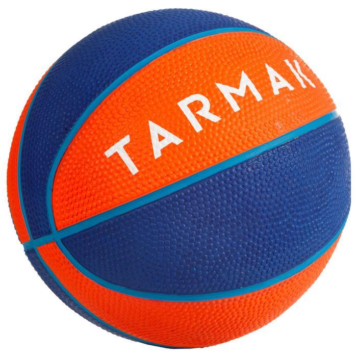 Mini B Kids' Size 1 Basketball Up to age 4.Orange.