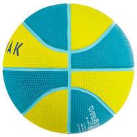 Mini B Kids' Size 1 Basketball. Up to Age 4. Green