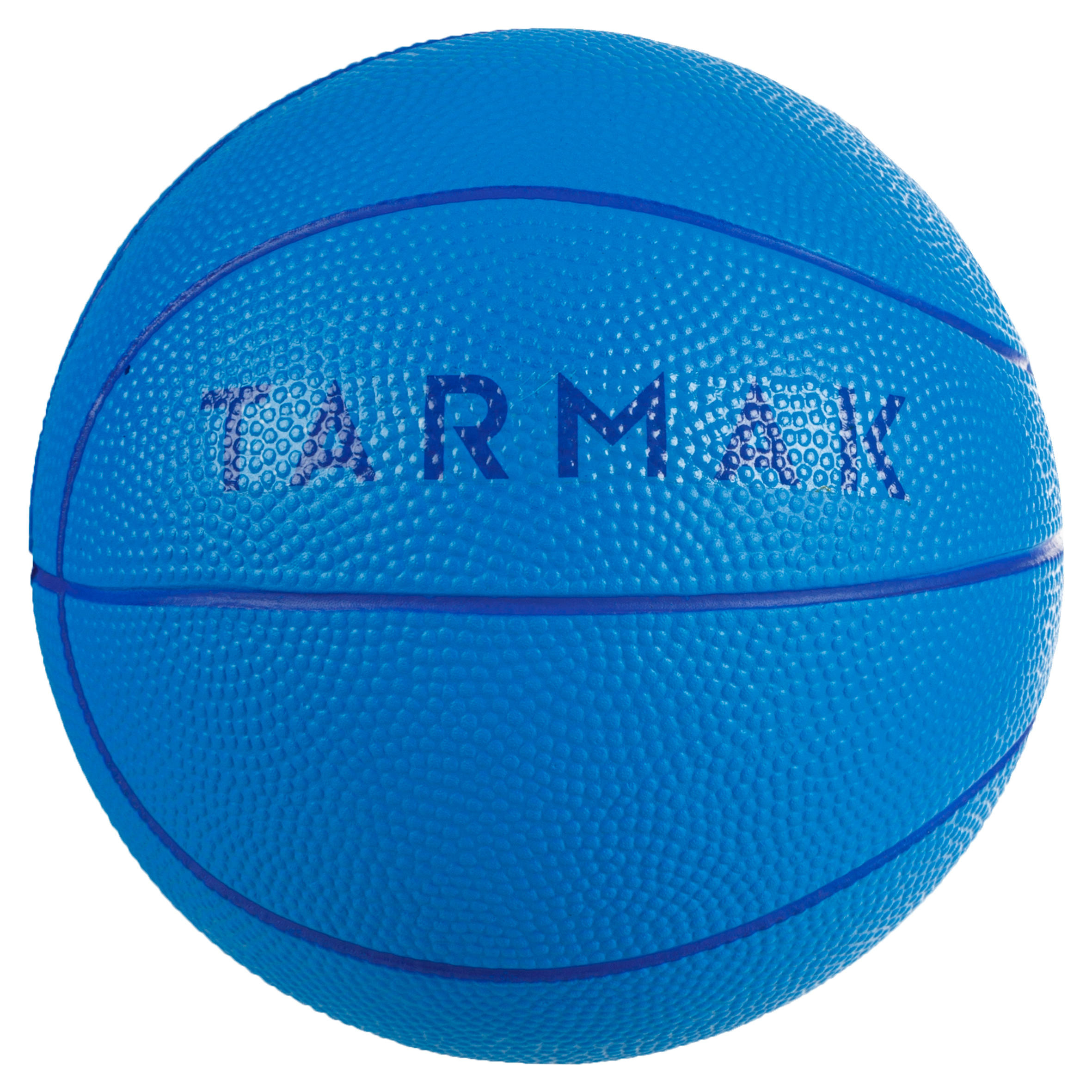 K100 Azul. Minibalón de básquetbol de espuma júnior, talla 1. Hasta 4 años.
