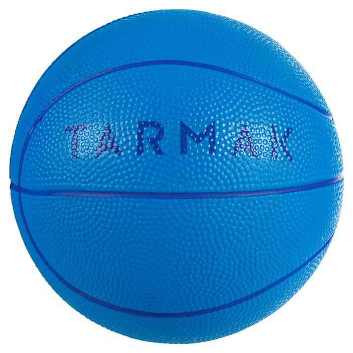 K100 Bleu. Mini ballon de basketball enfant en mousse taille 1. Jusqu'à 4 ans.